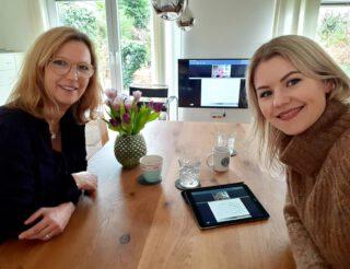🙋🏼♀️ Wir freuen uns Neues zu erfahren, heute mit einem super interessanten Webinar von Jean d'Arcel mit der lieben Frau Helsper !! 😊 @jda.de #jda #liederbach #news #uptodate #hydratante #webinar #fortbildung #keinstillstand